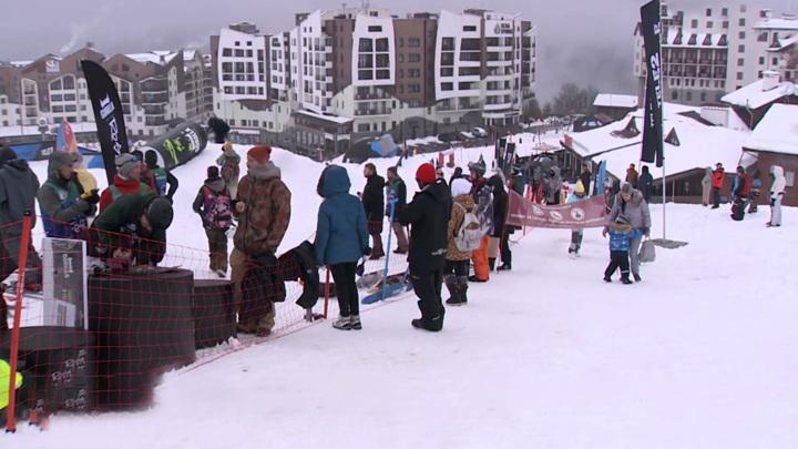 В Сочи горнолыжный сезон продлили до 10мая