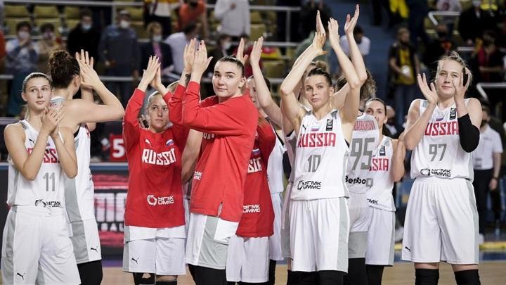 Женская сборная России с победы стартовала на Евробаскете