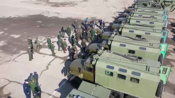 Министерство обороны России передало Таджикистану инженерную военную технику