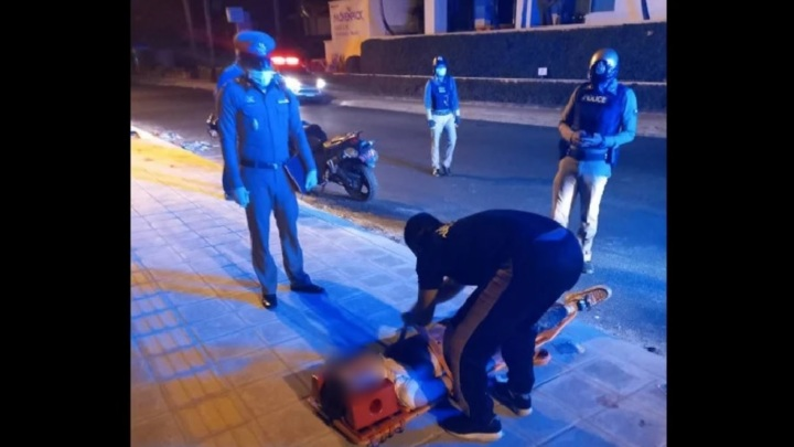 Россиянин с перерезанным горлом эвакуирован с пляжа в Таиланде