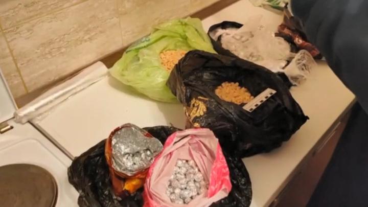 У красноярских наркоторговцев изъяли героин на 10 миллионов рублей