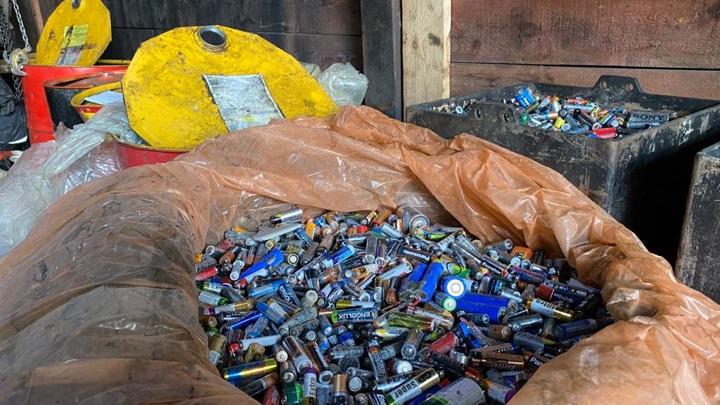 В Мурманской области школьники собрали 3 тонны отработанных батареек