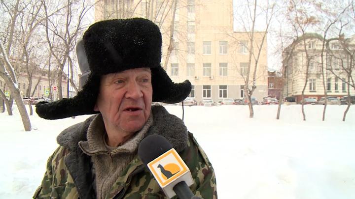 Томский дворник-поклонник Алана Уотса покорил соцсети, цитируя Beatles
