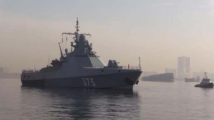Российские боевые корабли пришли в Пакистан