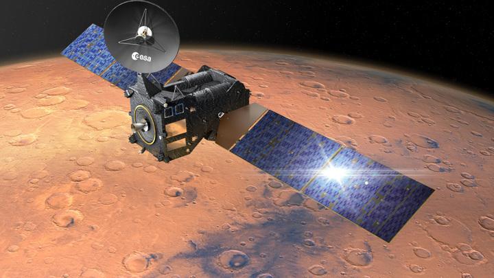 Аппарат TGO обнаружил в атмосфере Марса нечто неожиданное.