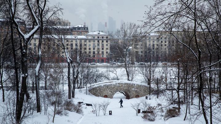 Минувшая ночь в Москве стала самой морозной за последние 70 лет
