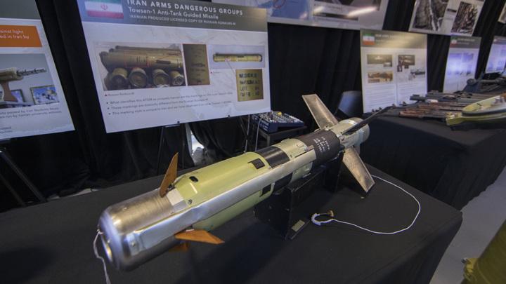 Иран запустил всепогодную управляемую ракету