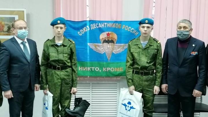 В Иванове появился первый десантный отряд для школьников