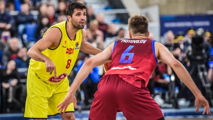 Баскетбол. Сборная России обыграла Северную Македонию