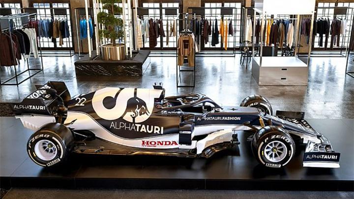 Формула-1. Команда Alpha Tauri представила новый болид