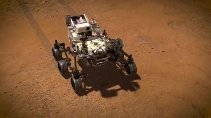 Вслед за первыми снимками Марса Perseverance пришлет и аудиозаписи