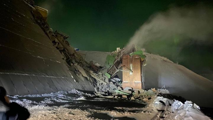 Названа возможная причина обрушения на фабрике в Норильске