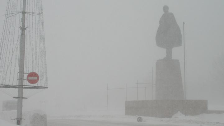 Буран года на Дальнем Востоке