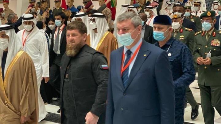 Украинский вице-премьер Уруский объяснил фото с Кадыровым