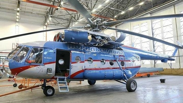 Вертолет Ми-8 экстренно сел на Таймыре