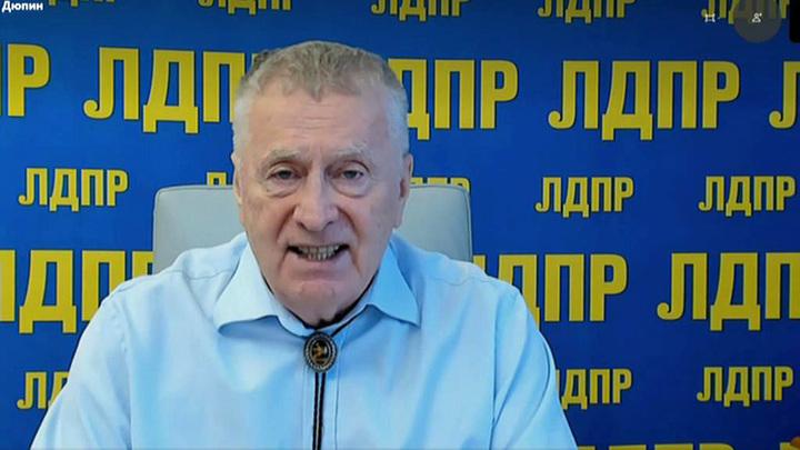 """Жириновский предложил способ борьбы с """"водной блокадой"""" Крыма"""