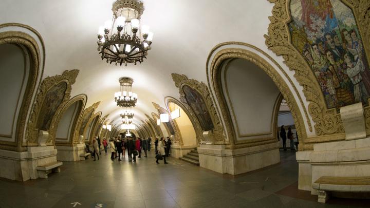 В московском метро нашли похожий на гранату предмет