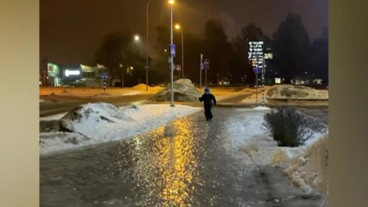Москва покроется коркой льда