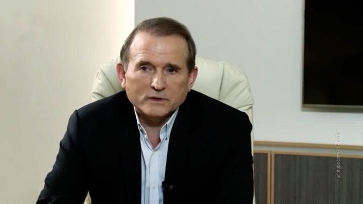 СБУ пришла с обыском домой к Медведчуку