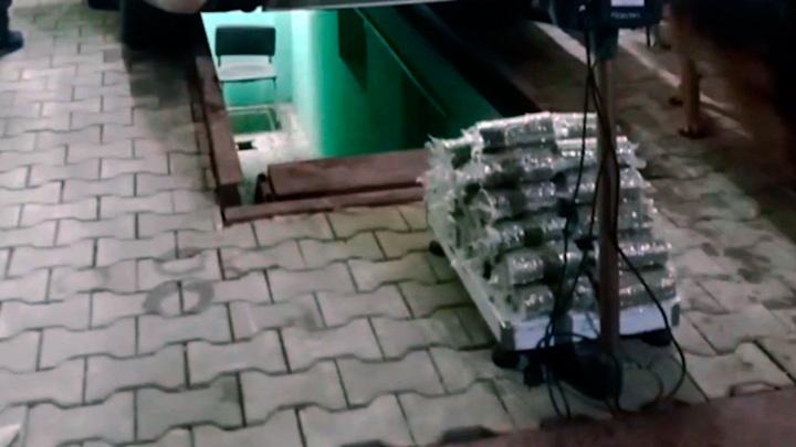 Украинец хотел провезти в Крым 20 кг марихуаны в топливном баке