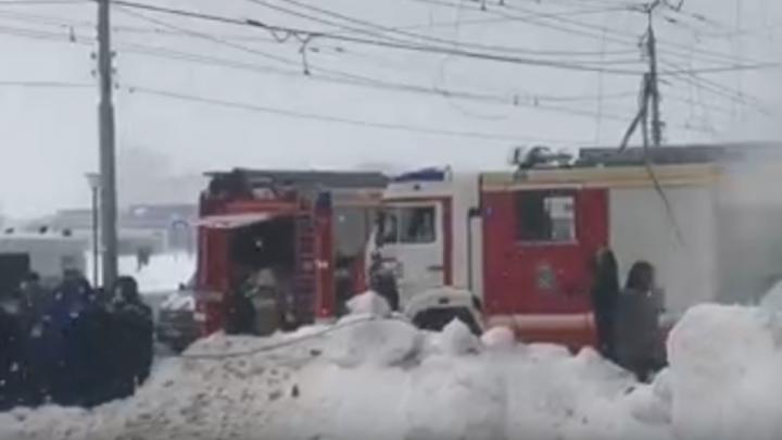 Спасательная операция завершается на месте взрыва на Мещерском бульваре