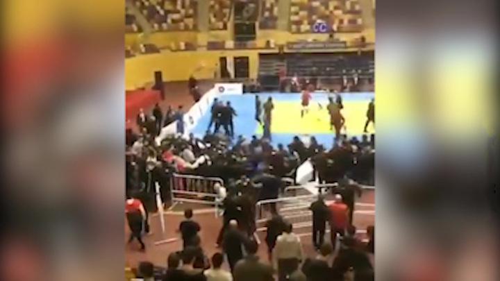 ЧП в Дагестане: юные дзюдоисты и болельщики устроили потасовку