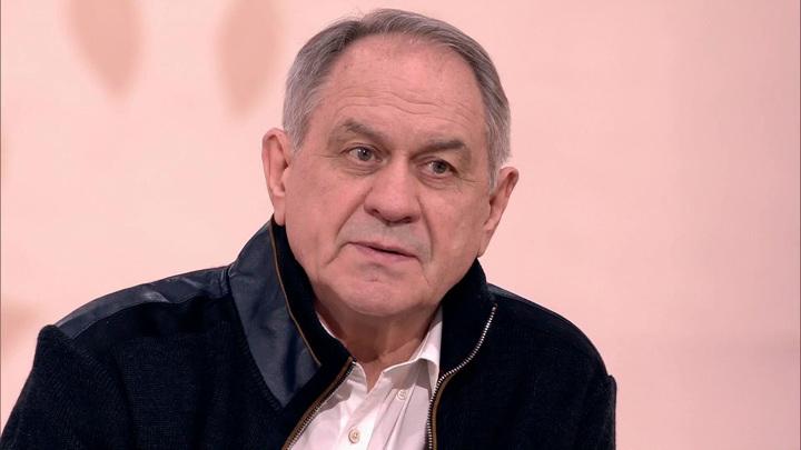 """Кадр из программы """"Судьба человека"""". Валерий Афанасьев"""