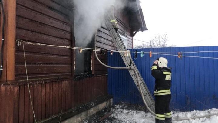 При пожаре во Владимирской области погибла 49-летняя женщина