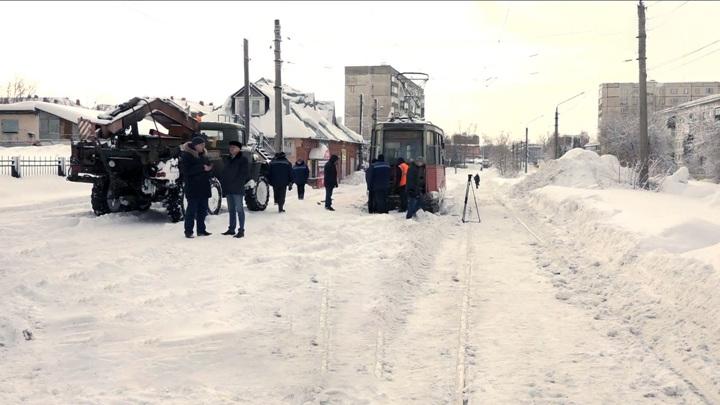 В Бийске сегодня утром не вышел на линию ни один трамвай