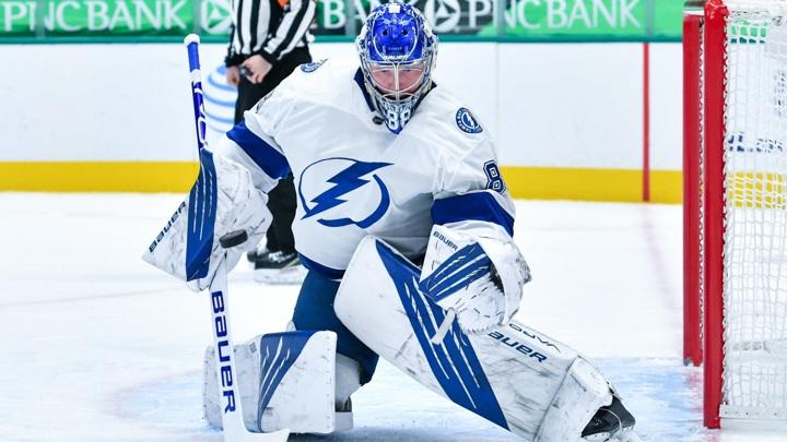 Хоккеисты НХЛ признали Василевского лучшим вратарем сезона