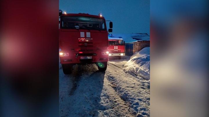 В Татарстане во время пожара погибли три человека