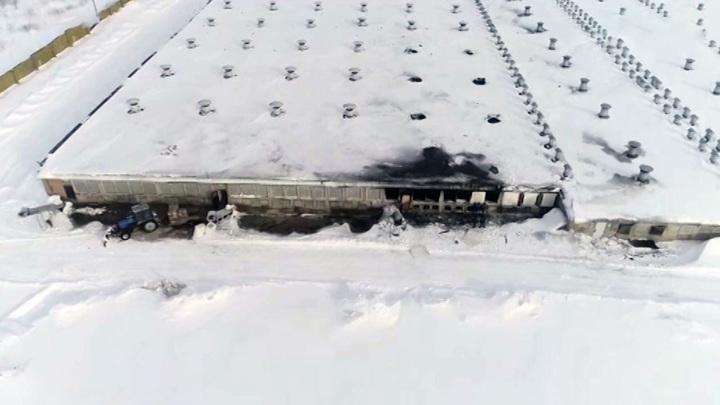В Татарстане считают сумму ущерба после пожара на птицефабрике