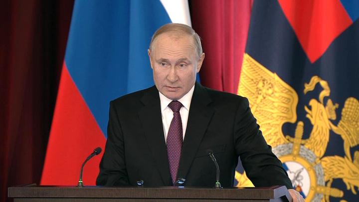 Хорьковые интересы: Путин назвал преступлением втягивание детей в акции через интернет