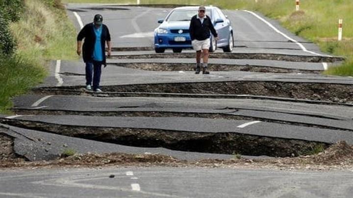 Два мощных землетрясения за день произошло в Новой Зеландии