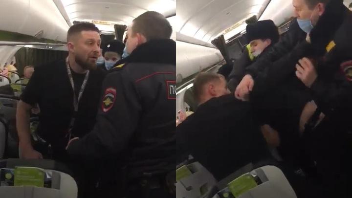 Новосибирских авиадебоширов отправили под домашний арест