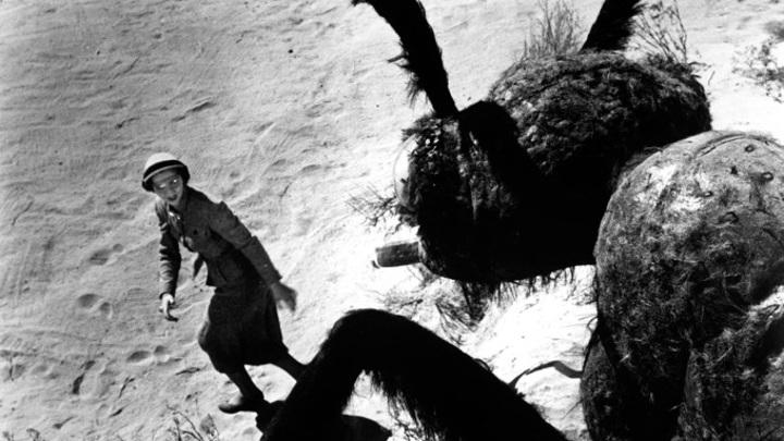 "Кадр из фильма ""Они!"". Джоан Уэлдон"