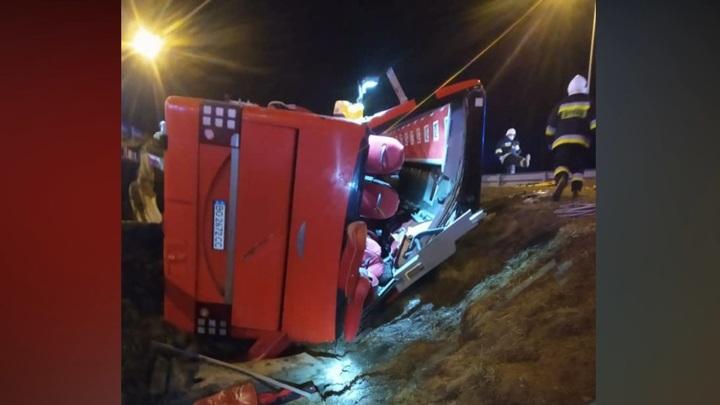 Скончался восьмой участник аварии с украинским автобусом в Польше