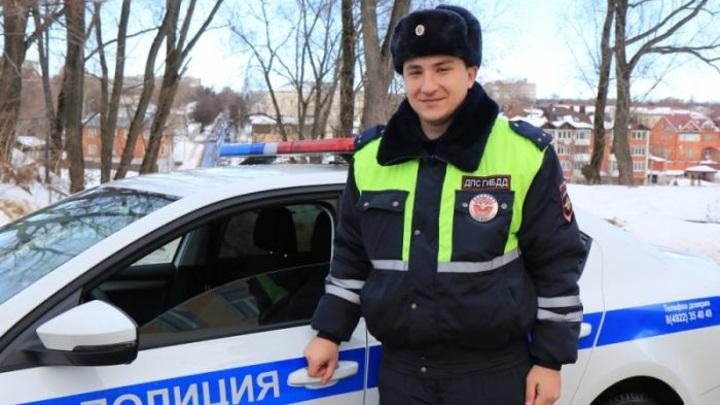 Владимирский полицейский на отдыхе задержал грабителя