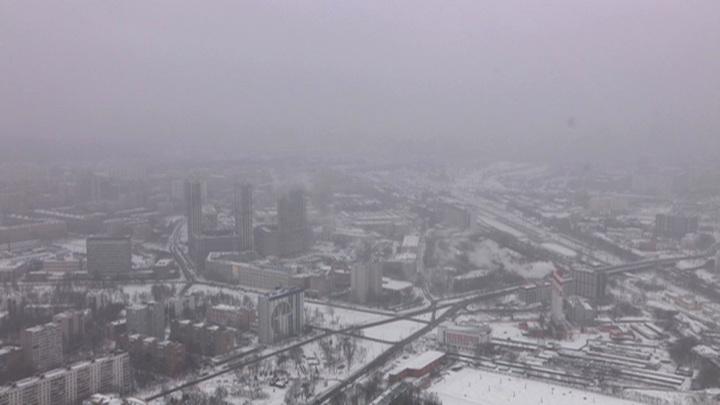 Снегопад накроет Москву к ночи