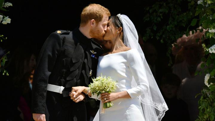 Брак принца Гарри и Меган Маркл был заключен за три дня до свадьбы