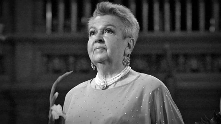 Людмилу Лядову похоронили рядом с матерью