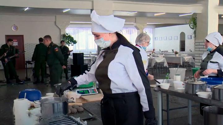 В Марий Эл проходит битва поваров ракетных соединений России