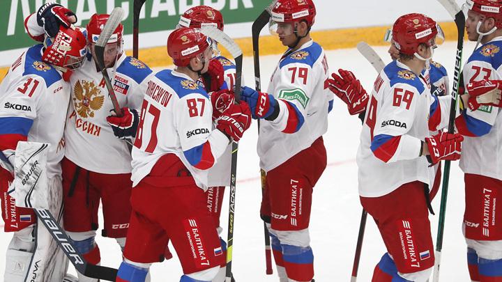 Сборная России по хоккею выступит на ЧМ под гимн международной федерации IIHF