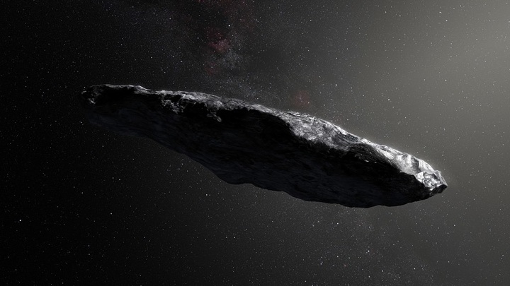 астероид Оумуамуа ESO/M / Kornmesser, CC BY 4.0