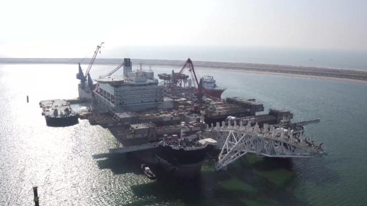 """""""Газпром"""" начал поставки газа в Хорватию по """"Турецкому потоку"""""""