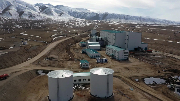 РФ помогает Киргизии осуществлять разработку крупного золоторудного месторождения