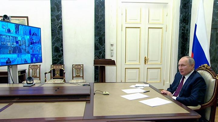 Путин: Херсонес имеет для России сакральное значение