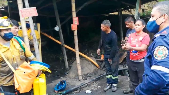 Четверо горняков спасены в Колумбии