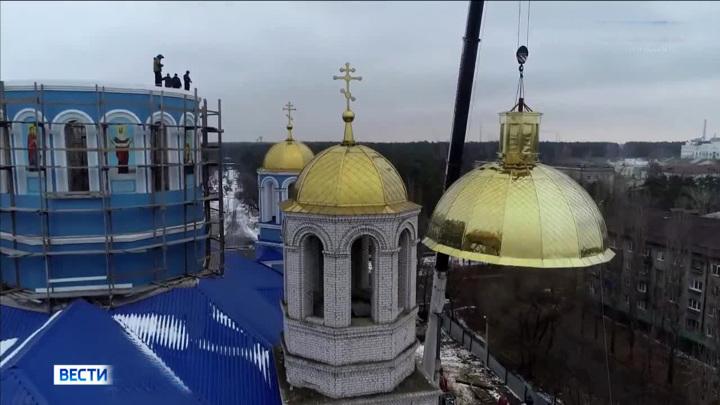 В Новгородской области проверят информацию о падении купола собора XVII века
