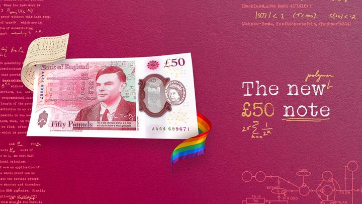 """На новой 50-фунтовой банкноте с портретом Алана Тьюринга нашли """"пасхальные яйца"""""""